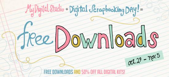 Free My Digital Studio Downloads Digital Scrapbooking Day