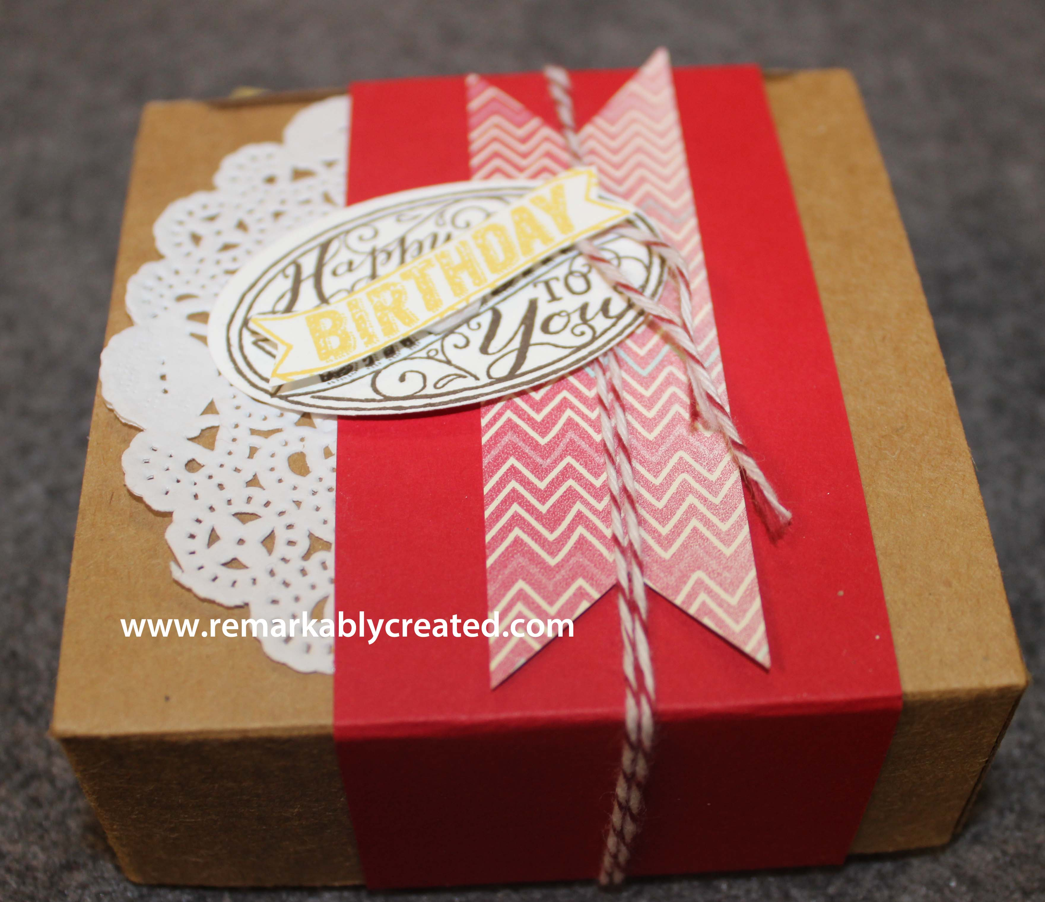 Need a quick and easy gift wrap idea? Kraft Boxes are amazing ...