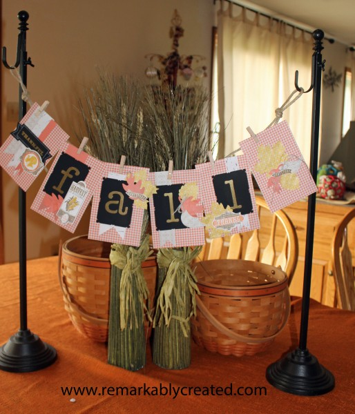 Stampin Up Thankful Tablescape Simply Created Kit Fall