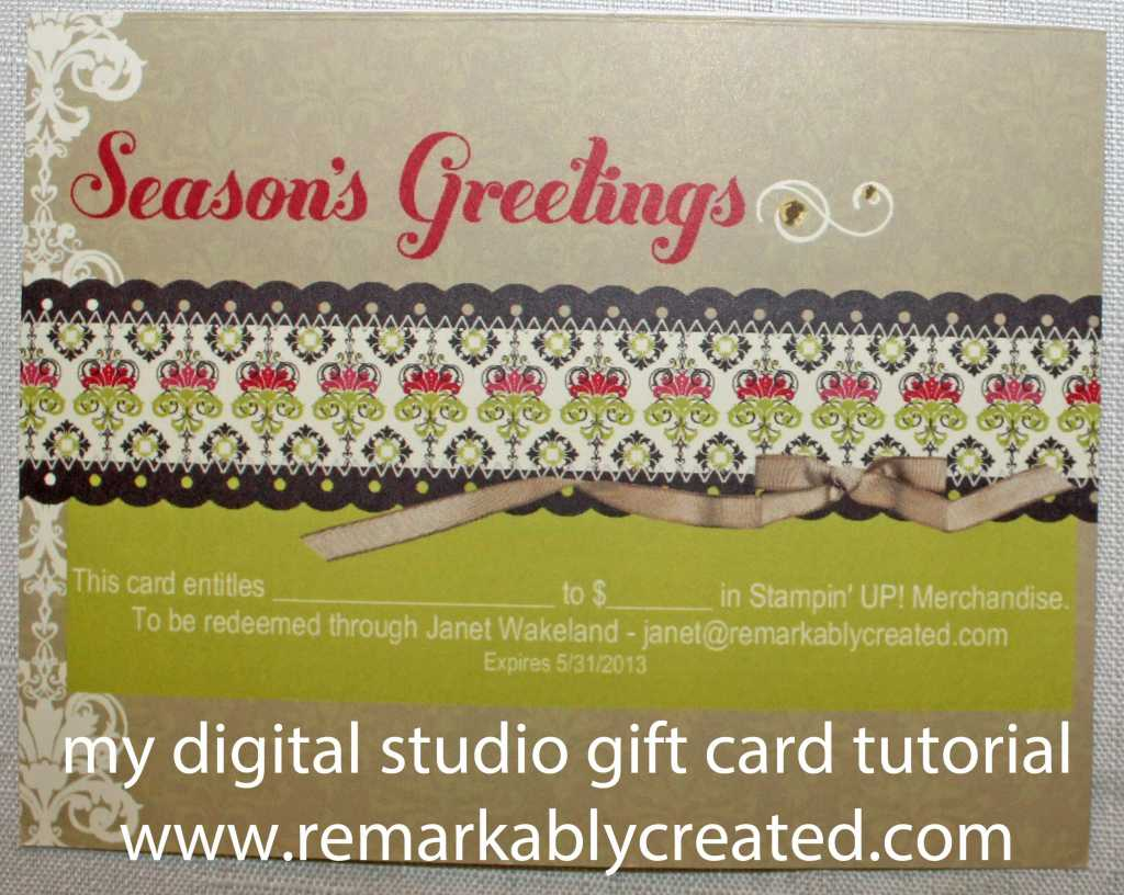 Exelent Create Your Own Gift Card For Your Business Composition ...
