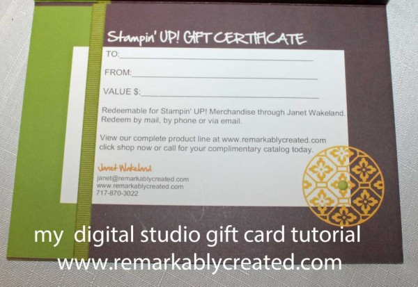 My Digital Studio Monday Create Your Own Gift