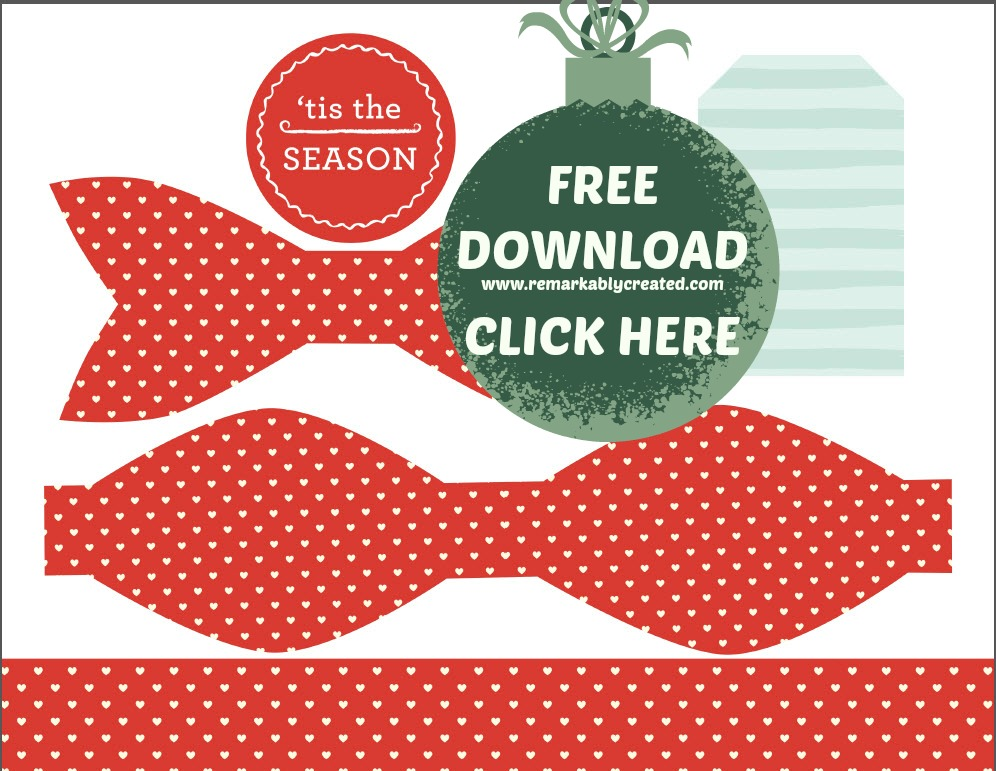 FREE Gift Bow Pattern Download - RemARKable Creations