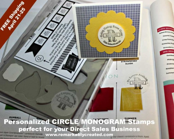 custom stamps for direct sales