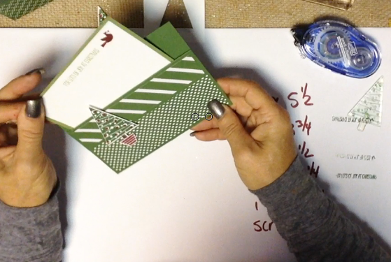 how to make a simple pocket greeting card