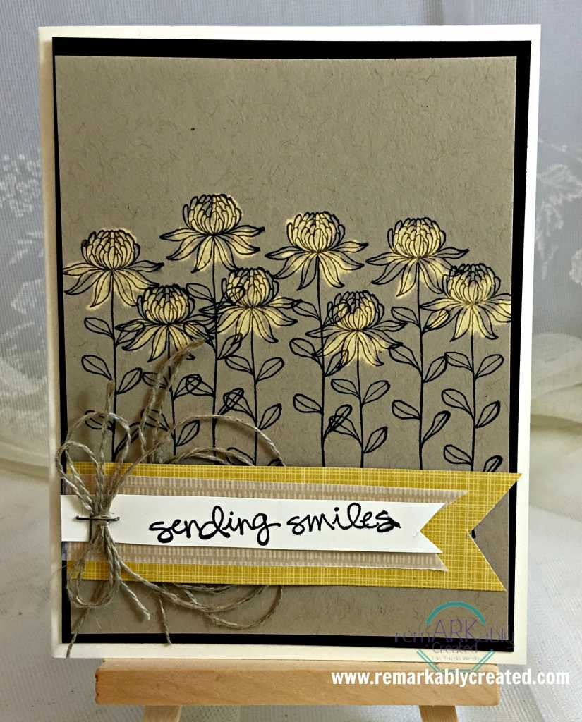 Flowering Fields one Hot Sale-a-bration Stamp from Stampin ...