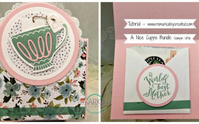 A Nice Cuppa Bundle from Stampin' UP! perfect Mother's Day Card