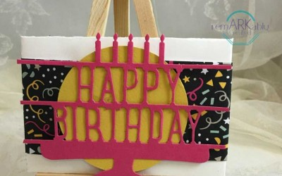Party Pop Up Thinlits by Stampin' UP! to kick off my Birthday Club!