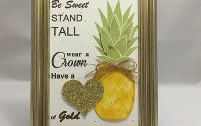 Stampin' UP! Pineapple