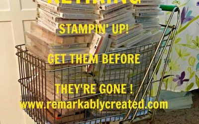 Stampin' UP! Retiring Products