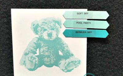 Stampin' UP! Baby Bear Color Combinations