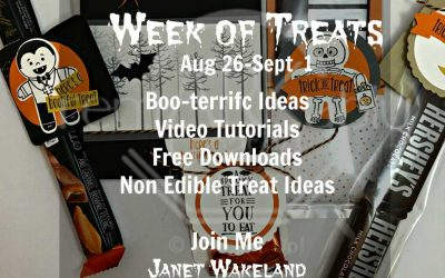 Week of Treats  – 7 days of Stampin' Up! Halloween Treat Video Tutorials & Ideas
