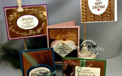 Stampin' UP! Copper Cards Class Kit