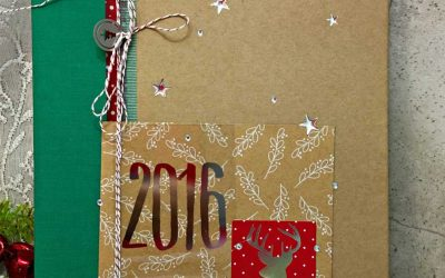 35 Projects with Stampin' UP!'s Hello December Project Life Card Kit & Accessory Pack.