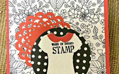 Day #12 Daily Sale-A-Bration  When in Doubt Stamp