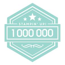 Stampin' Up! Million Sales