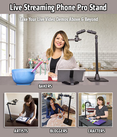 Arkon Pro Live Streaming Phone Stand