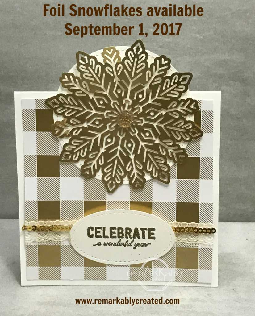 One Card Layout 3 variations with 2017 Stampin' UP! Holiday