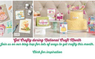 National Craft Month Blog Hop: March 4, 2018