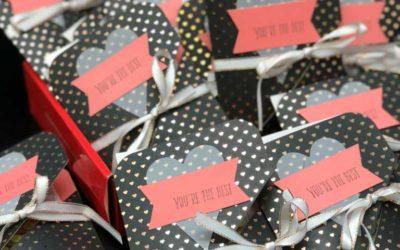 14 days of Valentines Ideas – Day #13 – Paper Pumpkin Valentines