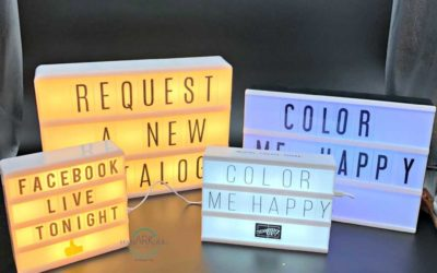 Light Box Comparison – Heidi Swapp, Cossy Time and Stampin' UP!