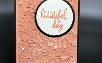 Check out these tips for working with the Delightfully Detailed Laser Speciatly paper by Stampin' UP!