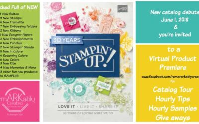 2018-19 Stampin' UP! Product Premiere