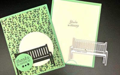 Sitting Pretty Bundle by Stampin' UP! debuts June 1st