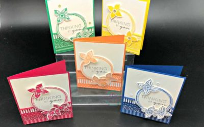 Pop of Petals showcases the new Stampin' UP! In Colors