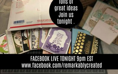 Stampin' UP! facebook Live with Lots of Ideas and guest Artist