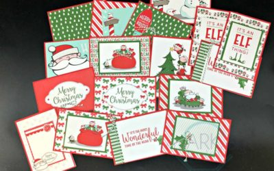 Santa's Workshop Memories & More by Stampin' UP!