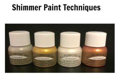 Shimmer Paint Techniques
