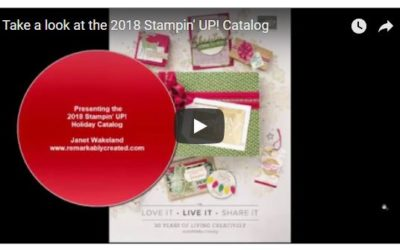 2018 Stampin' UP! Holiday Catalog Tour
