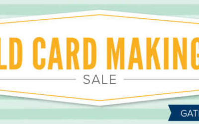Stampin' UP! World Card Making Day Sale