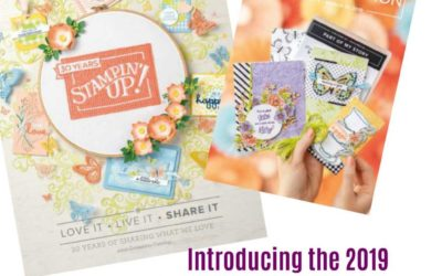 2019 Stampin' UP! Spring Catalog Sneak Peek