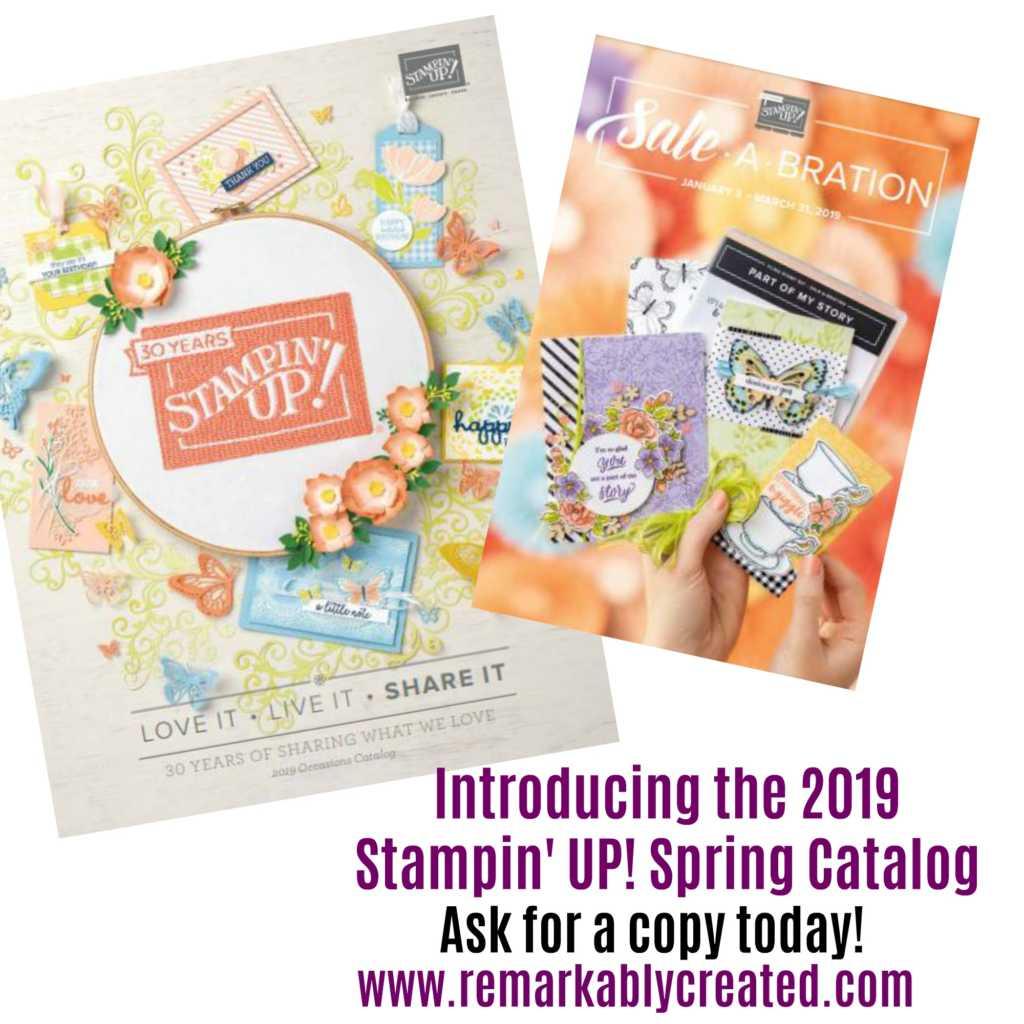 2019 Stampin' UP! Spring Catalog Sneak Peek - RemARKable Creations