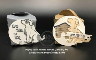 Stampin'UP! Happy Tails Bundle debuts January 3rd