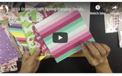 2019 Stampin' UP! Spring Catalog Product Shares