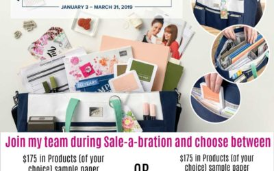 Save money when you JOIN Stampin' UP! during Sale-a-bration