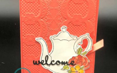 Teapot Together Cling Mount stamp from Stampin' UP!