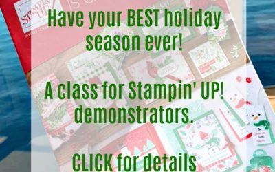 Stampin' UP! Holiday Catalog – Demonstrator Training Class