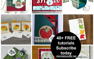 Would you like FREE Stampin' UP! project tutorials?