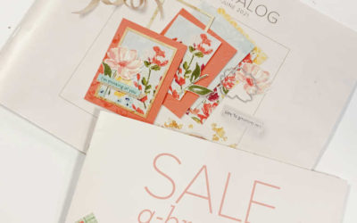 How to get a copy of the 2021 Stampin' Up! Spring Catalog and Sale-a-bration brochure
