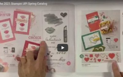 Did you see the new 2021 Stampin' UP! spring Catalog?